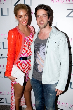 Erin McNaught and Geoff Measey