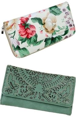 'Cabrelli' Floral Passport Wallet $34.99 STRANDBAGS_Westfield centres