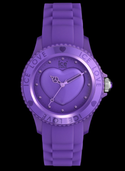 purple ice love watch