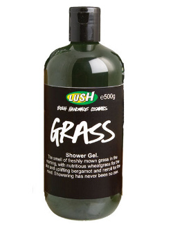 grass shower gel