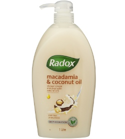 Radox Macadamia & Coconut Oil Shower Cream
