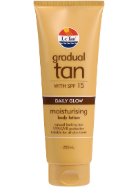 Gradual Tan Daily Glow SPF 15+ 250ml