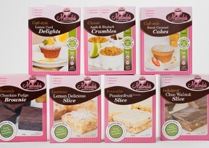 melindas sweet premix range