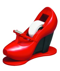 Stiletto tape dispenser