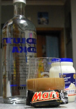 mars bar vodka
