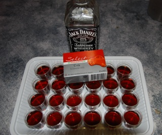 Jack Daniels Jelly Shot – could only be made with Cola and ...