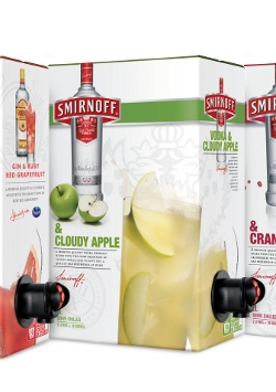 Smirnoff cloudy apple