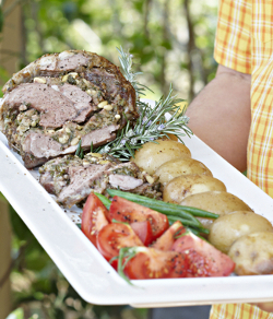 Rolled Lamb & Stuffing